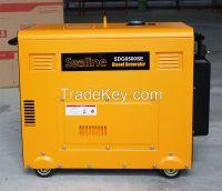 5KVA/5KW silent type diesel generator