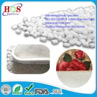 TPR material for carpet coating