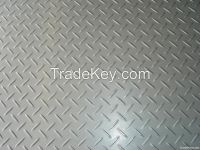 Aluminum/steel hot rolled checkered plate