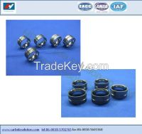 Tungsten carbide bearing bush and sleeve