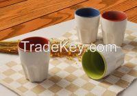 Custom Ceramic Ice Cream Cups Manufacture
