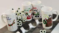 Ceramic Mug Promotion Gift Mug Happy Holidays Mugs