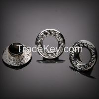 Lead Free Nickel Free Customized Logo Brass Eyelets