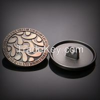 New Fashion Design Alloy Shank Button