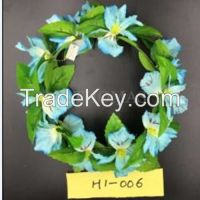 Artificial Floral Crown Headband for Wedding & Christmas