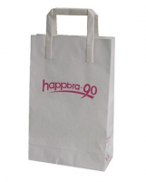 luxury custom matte paper bag of various sizes exporting to canada