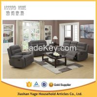 New design living room funiture luxury electric recliner leather sofa
