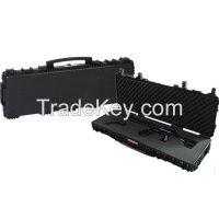 China Waterproof IP67 Pelican Style Long Gun Rifle Case Plano Gun Guard AW Tactical Case with Wheels