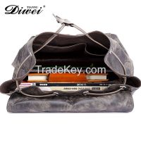 High qualtiy leisure canvas men backpack bag with a factory price