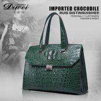 Highest quality genuine leather women handbag