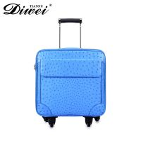 High-end customized genuine leather luggage