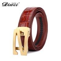 High-end Custom Genuine leather alligator belt, crocodile skin belt