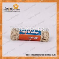 3 strands twisted sisal rope