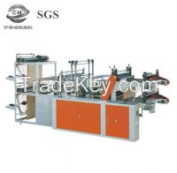 Computer Control High-Speed Double Layer Vest Rolling Plastic Bag-Making Machine