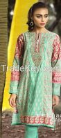 khaadi embroidered dresses (cambric collection 2015)