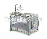 with mosquito double layers baby bassinet baby cradles and baby cribs