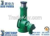 3.2T-100T Manual Powered Vertical Bottle jack Mechanical Screw Jack(he