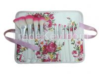 Brush set with pouch