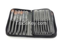 [BEST SELLER] Stylish Brush Set with Storage PU Handbag