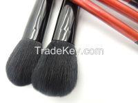 7PCS.Sexy Red Brush set