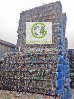 PET Bottles Baled Scrap