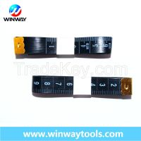 Chinese Manufacturer fiber glass tailor measuring tape / 150cm & 60'' length 2.0cm width / without any logo