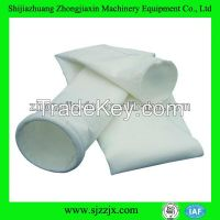 Polyester fiber needled felt filter bag