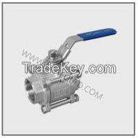 3PC NORMAL DUTY THREAD BALL VALVE