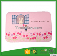 With Clear Cartoon Printed 100% Polyester Non Skid Kitchen Mats