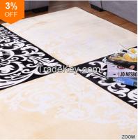 100% Polyester Luminous Living Room Floor Rugs Carpet