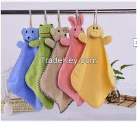 全棉动物头擦手巾