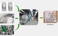 Waste aluminum plastic separation machine