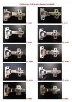 35mm & 26mm slide on or clip on concealed hinge/cabinet hinge