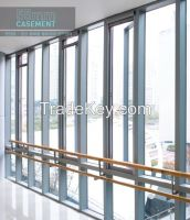 aluminium profile casement window, aluminum window