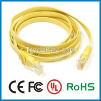 Flat RJ45 Cat5e Ethernet Cable Network LAN Patch Lead