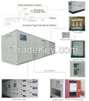 prefabricated mobile substation E-house
