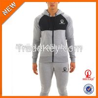 men patchwork hoody