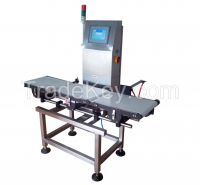 Online checkweigher for food