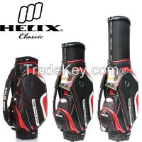 2015 Helix Travel Series Golf Bag With hidden Wheels/stand golf bag with wheels