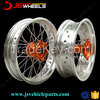 17inch KTM Racing Sport Motorcycle spoked aluminum alloy wheels