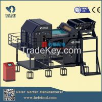 CE& ISO mineral/ore CCD color sorting machine