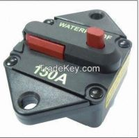 GCB Series ip67 50 to 120a circuit breaker, surface/panel mount and manual/auto reset, water proof