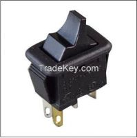 MR5-111-HSDBSB-003 industry's smallest ac/dc rocker switches, lighted, up to 6a 125vac