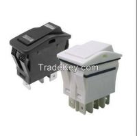X7 Series  double pole/single pole rocker switches, sealed to ip67 protection, on-off-on, automotive switch