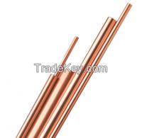 ASTM B280 Copper Straight Tube Hard Drawn Dehydrated
