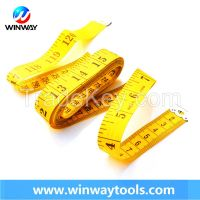 150cm 60 inch pvc fiberglass sewing printed tailor tape measure with factory price