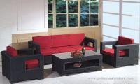 Dubai Hospitality outdoor rattan sofa for hotel