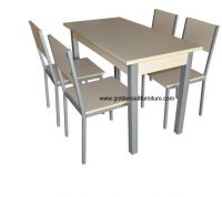 Mall food court furniture