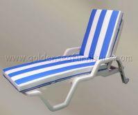 Plastic sunbed for swimming pool Hotel resort furniture