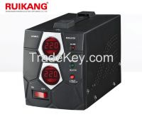 Digital display relay type automatic voltage regulator 500VA